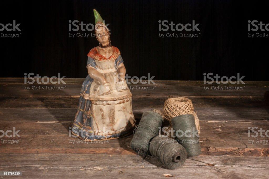 Kersamik Dosen Statue stock photo
