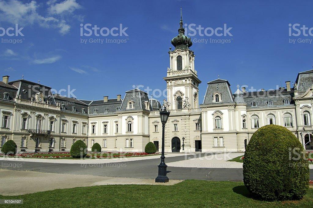 Keszthely Palace stock photo