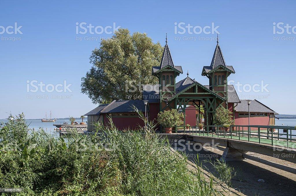 Keszthely,Lake Balaton,Hungary stock photo