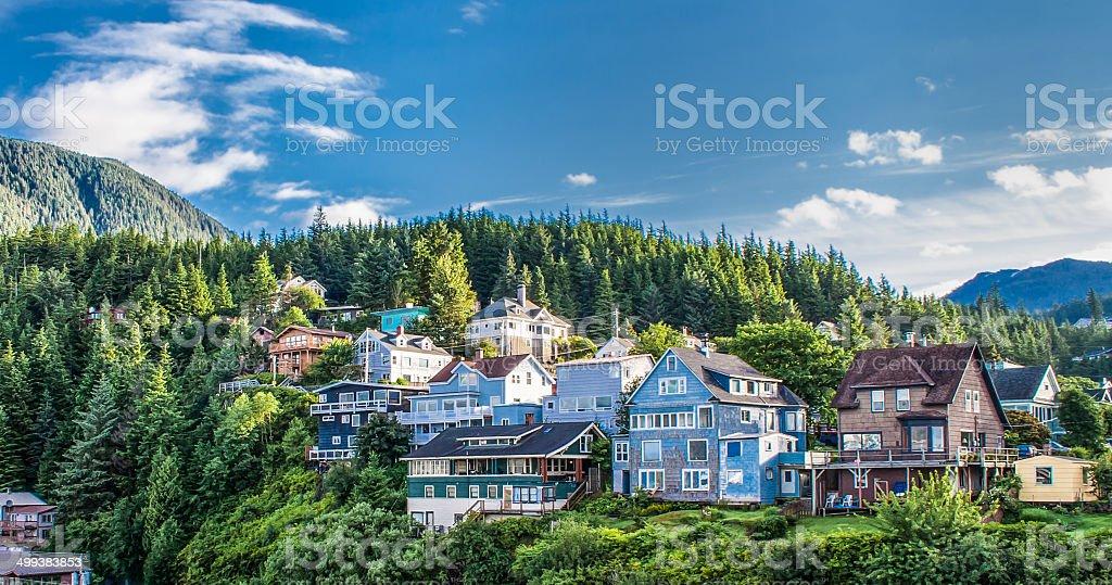 Ketchikan, Alaska stock photo