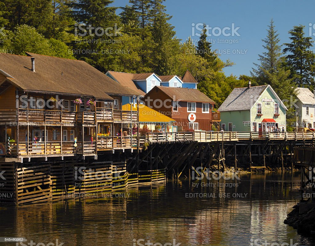 Ketchikan - Alaska stock photo
