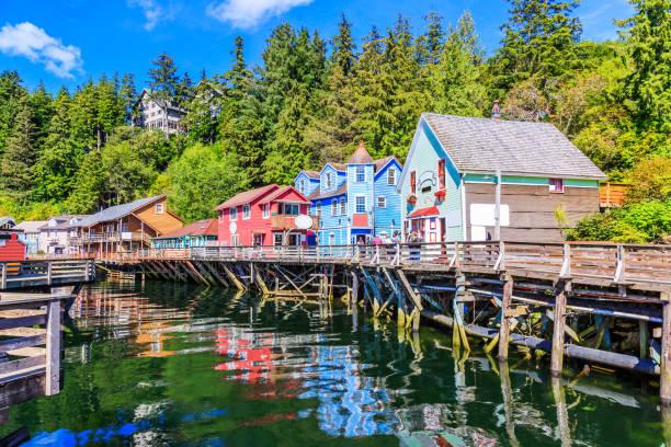 Ketchikan, Alaska. – Foto