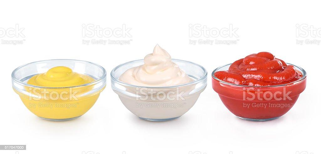 ketchup, mustard stock photo