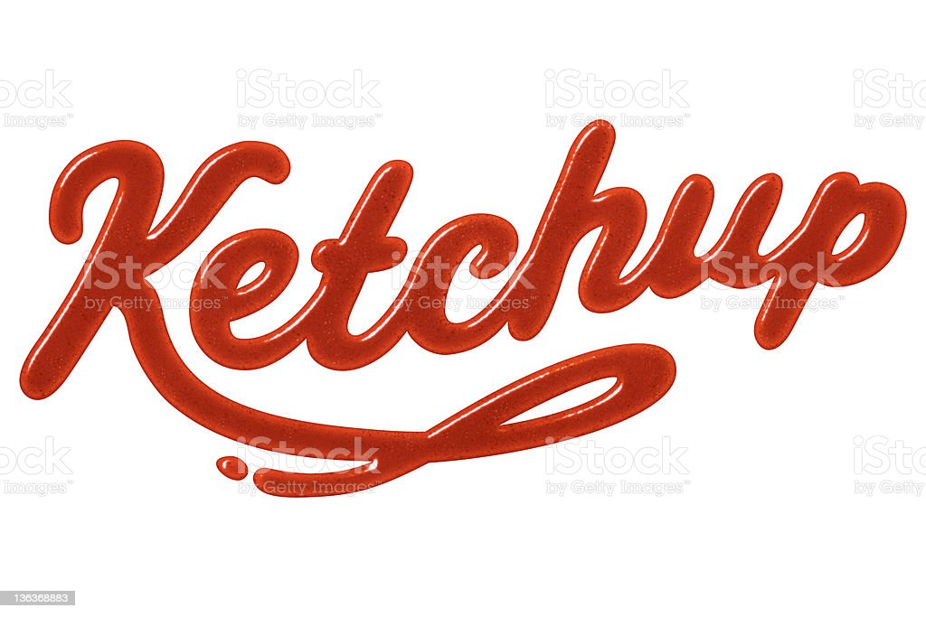 Ketchup royalty-free stock photo