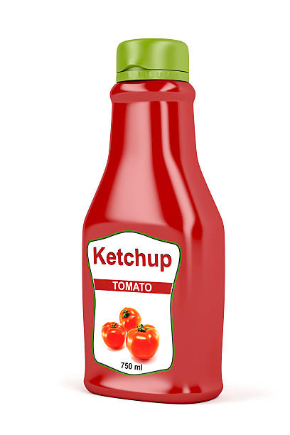 ketchup - ketchup bottle stock photos and pictures