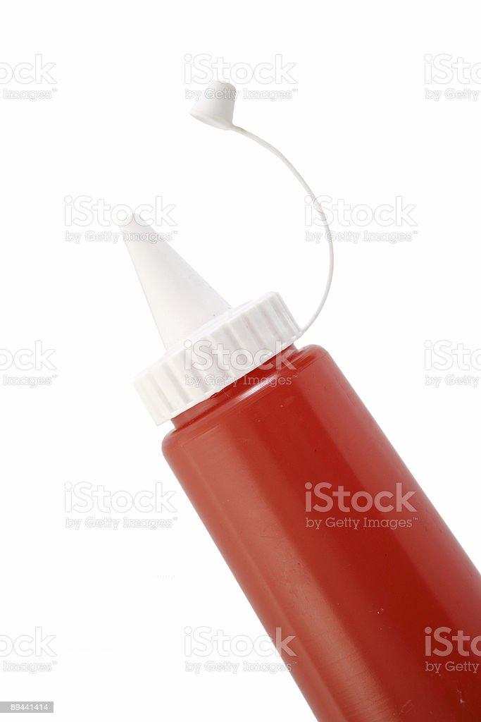 Ketchup foto de stock libre de derechos