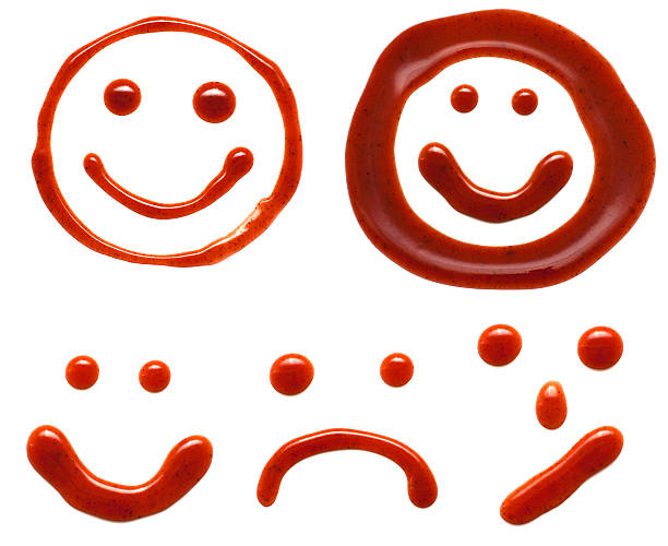 ketchup smiles  ketchup stock pictures, royalty-free photos & images