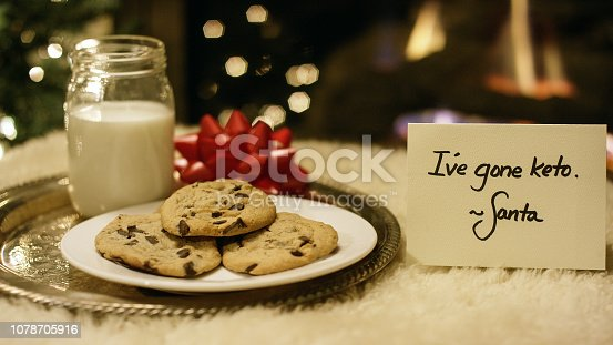 Ketogenic Christmas: Santa Politely Refuses Milk and Cookies with a
