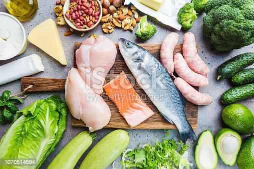 istock Ketogenic diet concept 1070514594