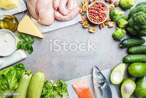 1129572695 istock photo Ketogenic diet concept 1070516020