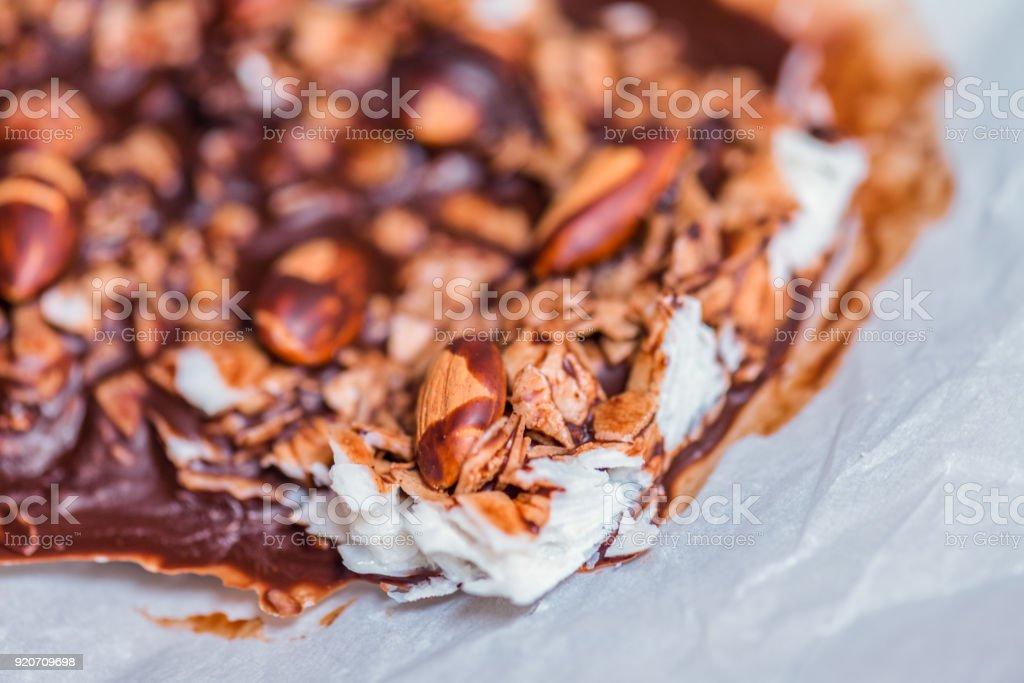 Ketogenic diet dessert stock photo