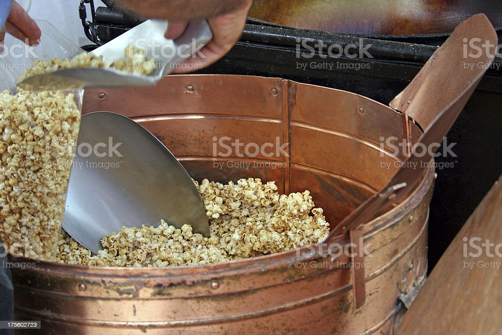 Kettle Corn stock photo