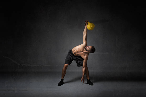 kettlebell training concept
