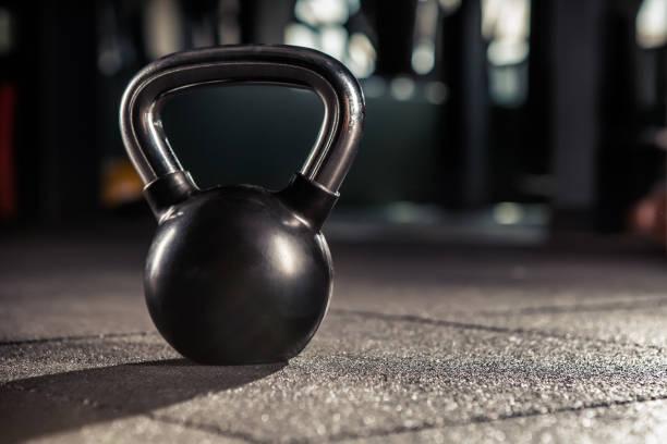 Kettlebell Training im Fitness-Studio – Foto
