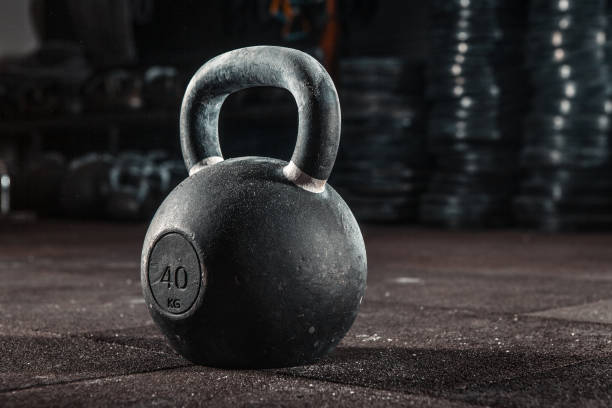 Kettlebell Training im Fitness-Studio – Foto