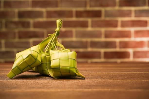 ketupat - ketupat stock pictures, royalty-free photos & images
