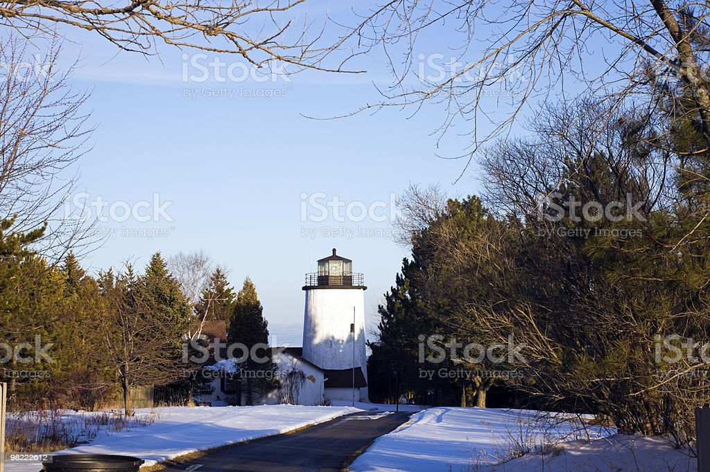 Kevich Lighthouse royalty-free stock photo