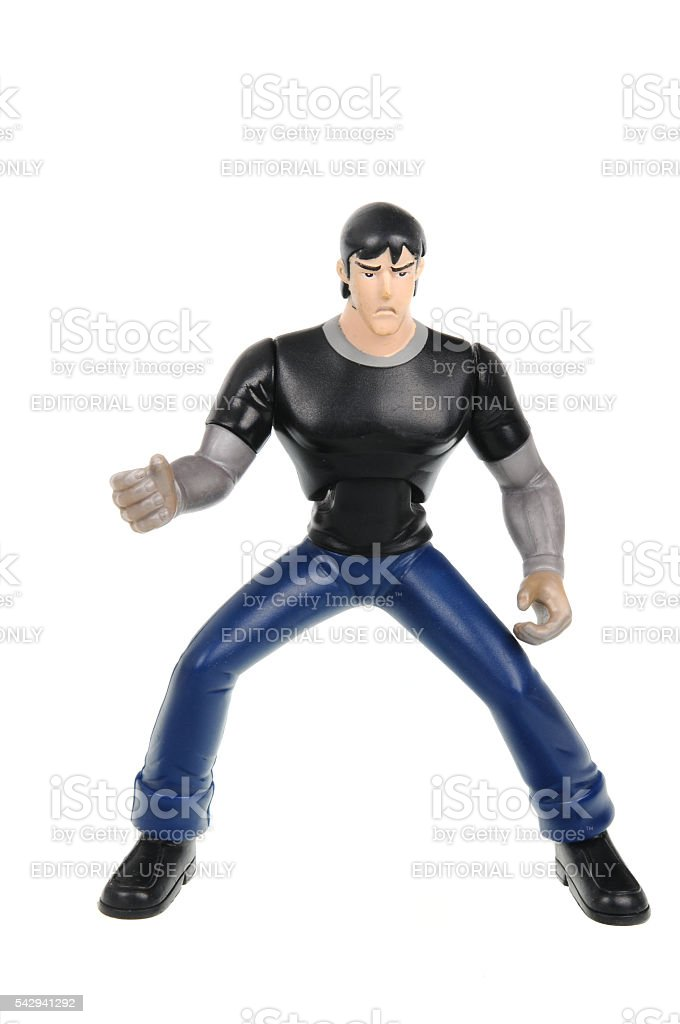 Kevin Levin Ben 10 Action Figure stock photo
