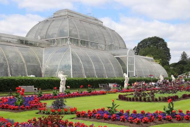 Kew Gardens Palm House stock photo