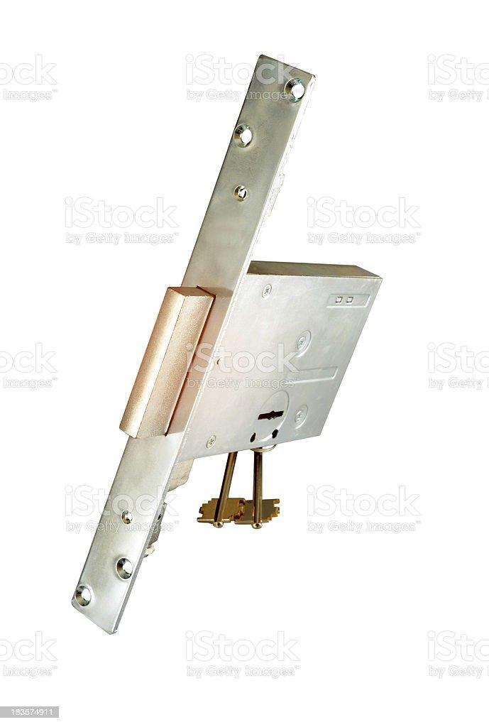 key and lock royalty-free stock photo