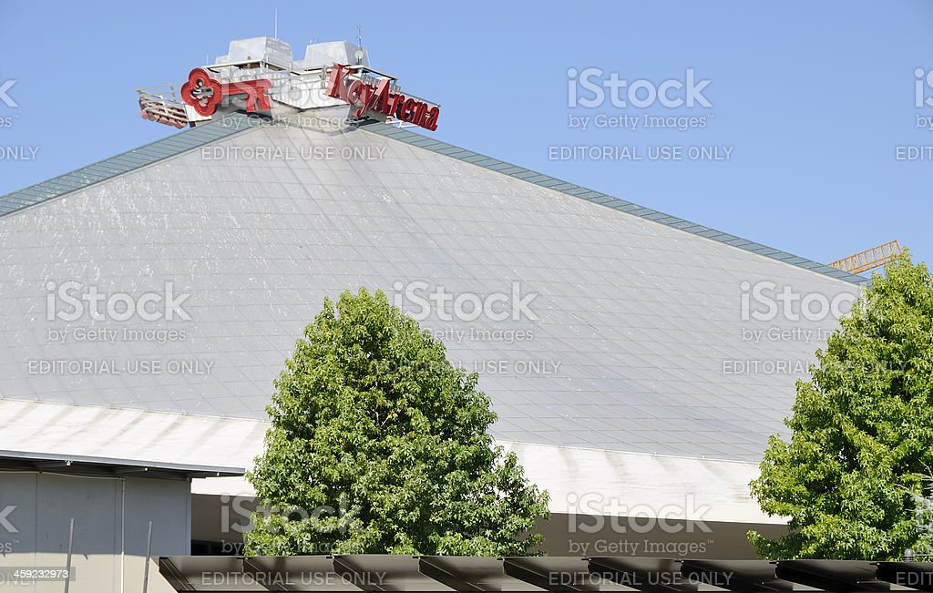 Key Arena stock photo
