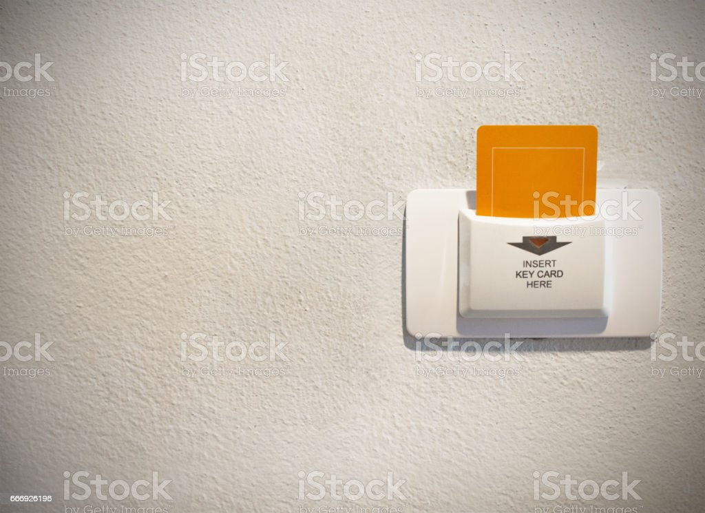 Key Card stock photo