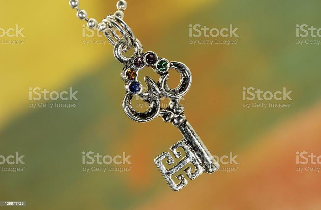 Key Charm stock photo