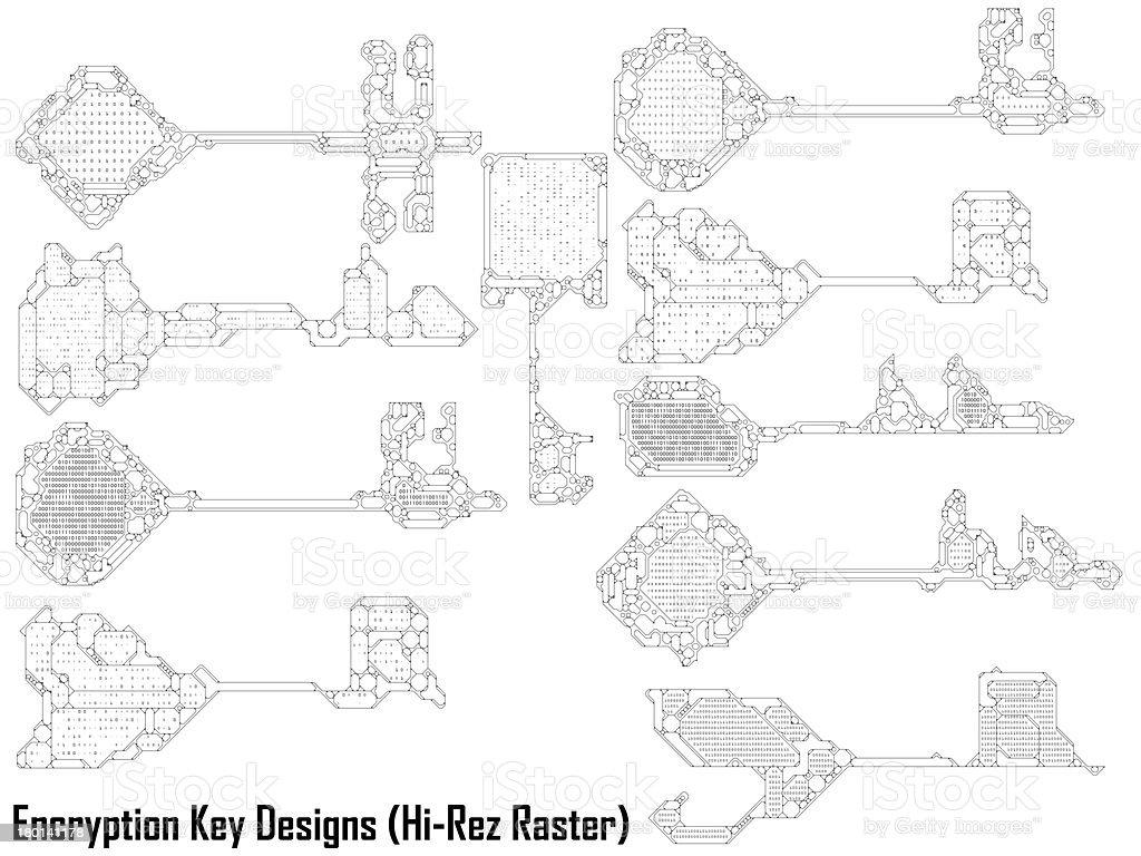 Key Code Designs Stock Photo - Download Image Now - iStock