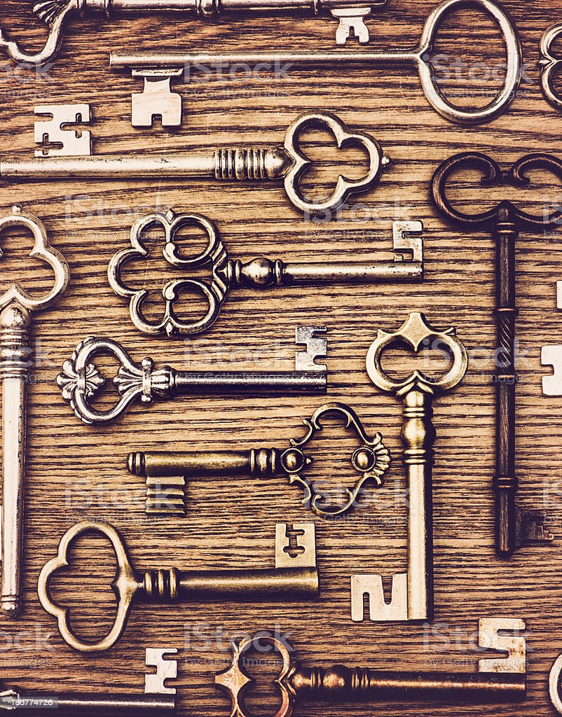 Key Collection stock photo