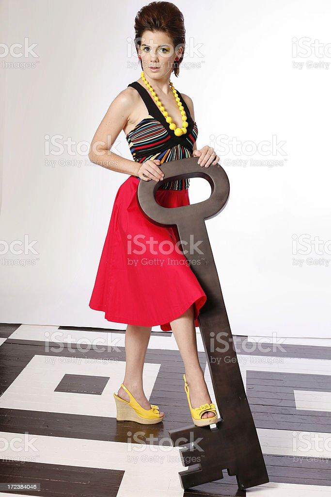 Key Cutie royalty-free stock photo