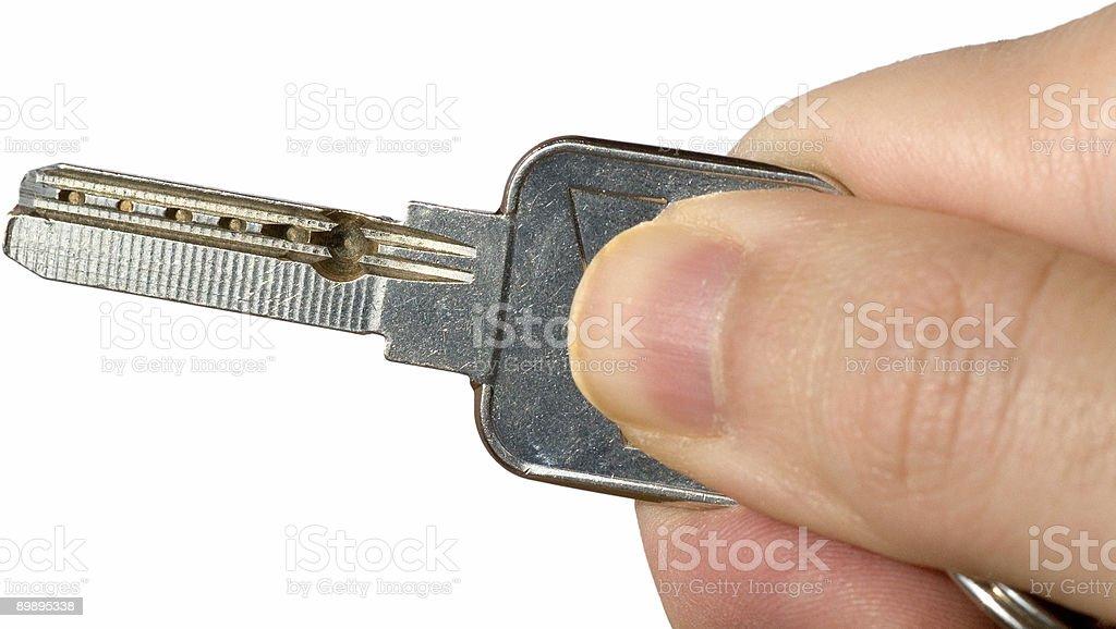 Ключ дома II Стоковые фото Стоковая фотография
