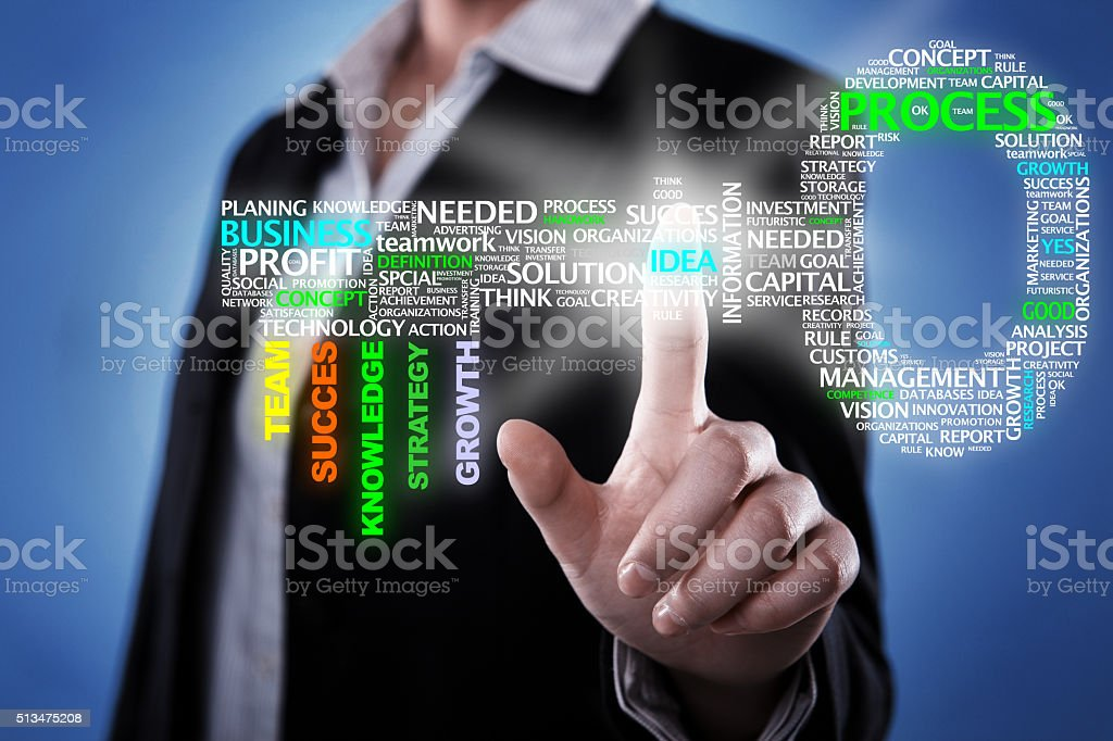 Key idea stock photo