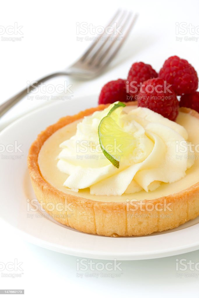 Key Lime Tart royalty-free stock photo
