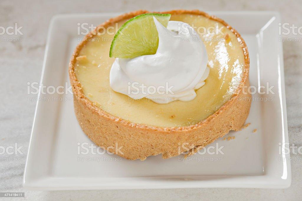 Key Lime Tartelette stock photo