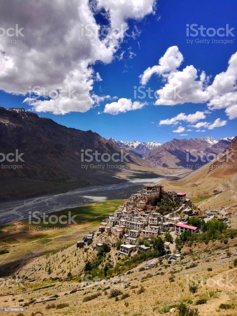 Key Monastery stock photo