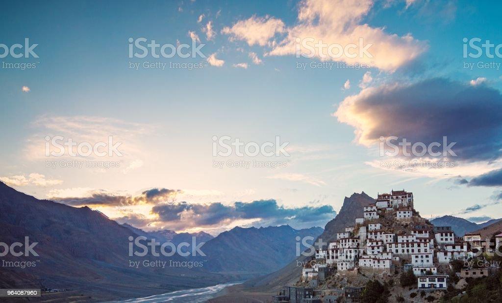 Key Monastery Spiti, Himachal Pradesh, India - Royalty-free Ancient Stock Photo