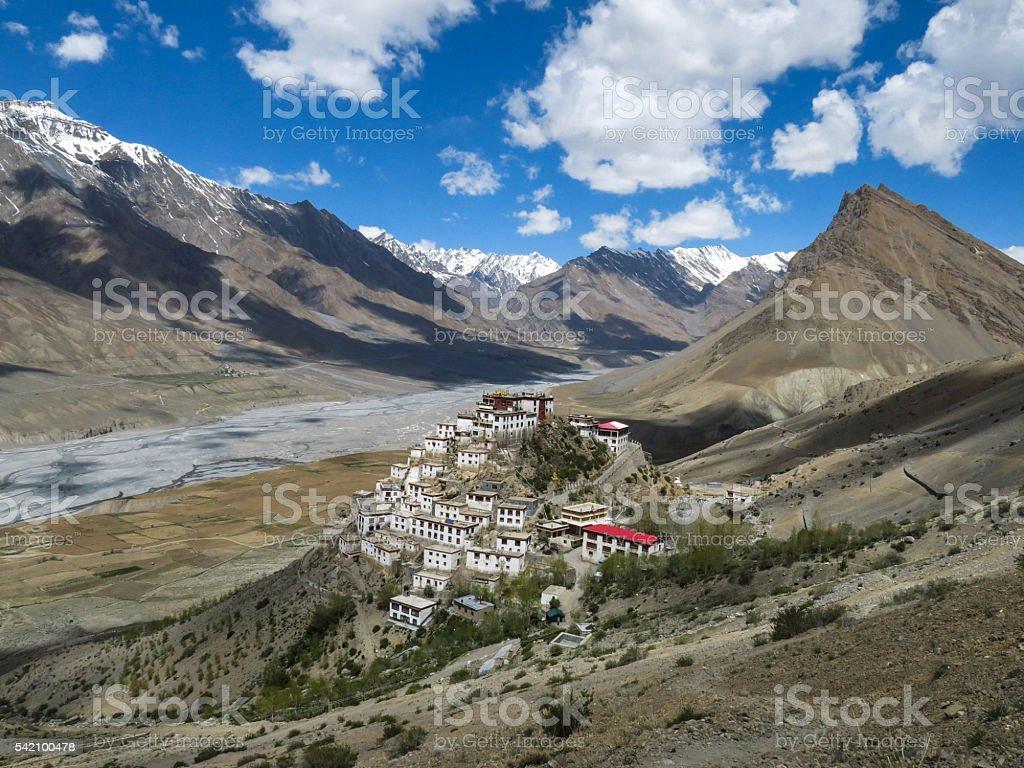 Key Monastery, Spiti Valley, India 2 stock photo