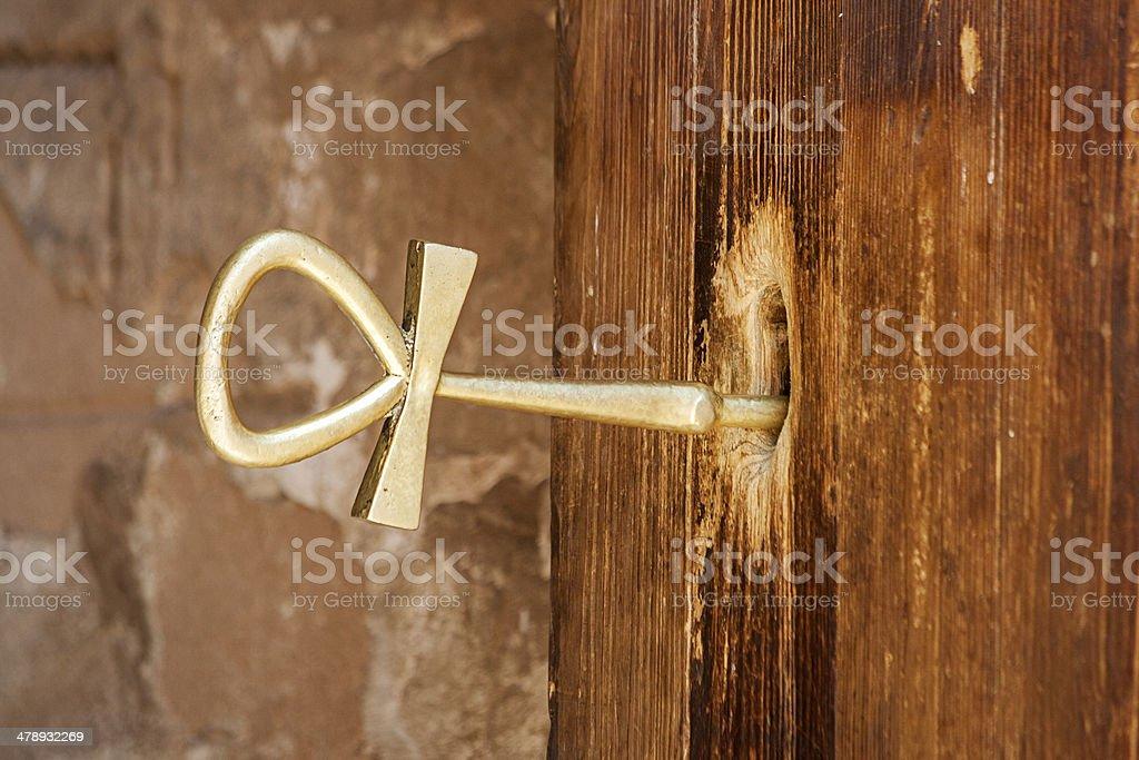 Key Of Life, Abu Simbel, Egypt royalty-free stock photo