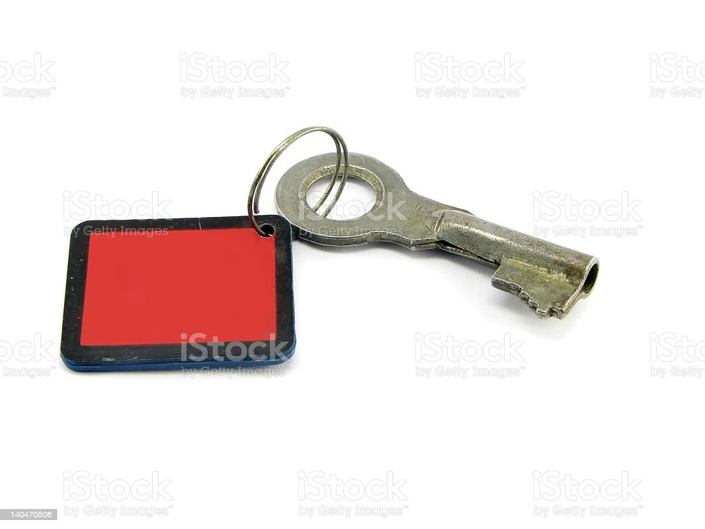 Key on the bond royalty-free stock photo