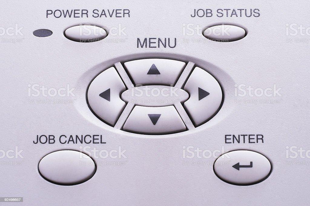 Key pad #3 royalty-free stock photo
