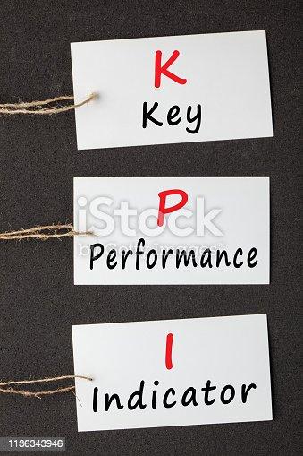 istock Key Performance Indicator 1136343946