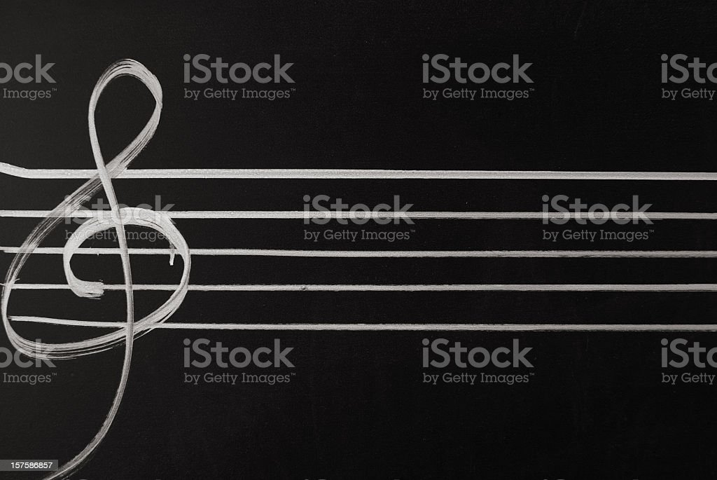 clef royalty-free stock photo