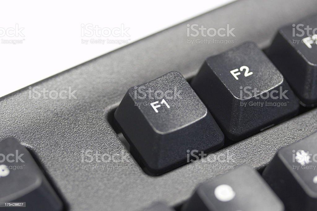 F1 key royalty-free stock photo