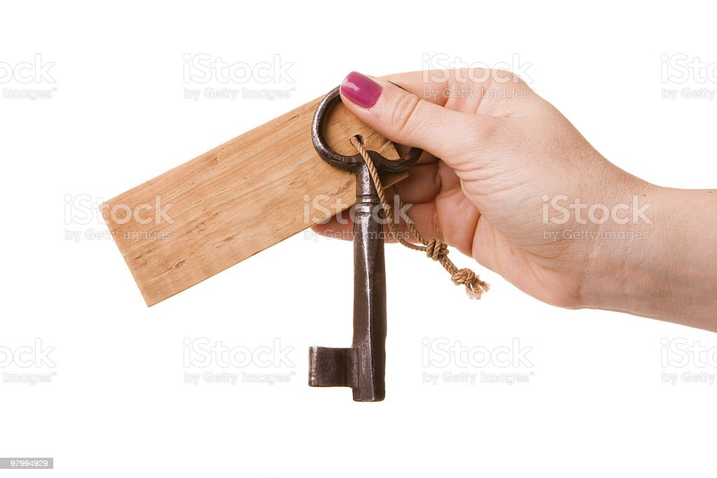 Key royalty-free stock photo