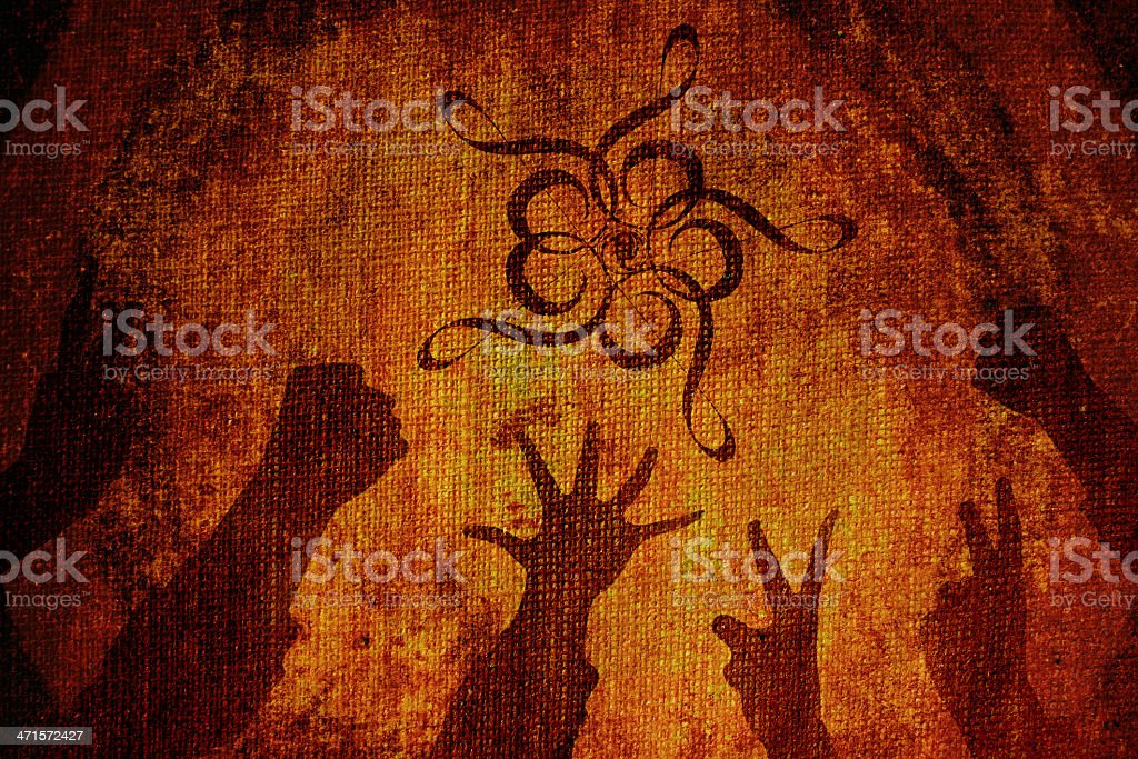 Rock clef royalty-free stock photo