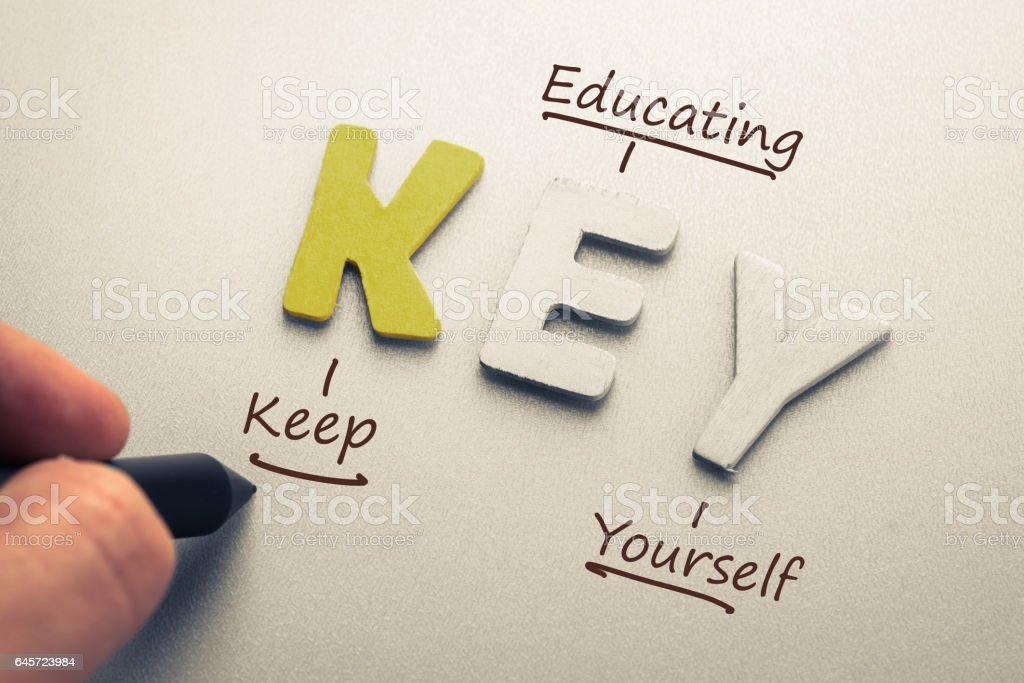 Abkürzung der Schlüssel zum Erfolg – Foto