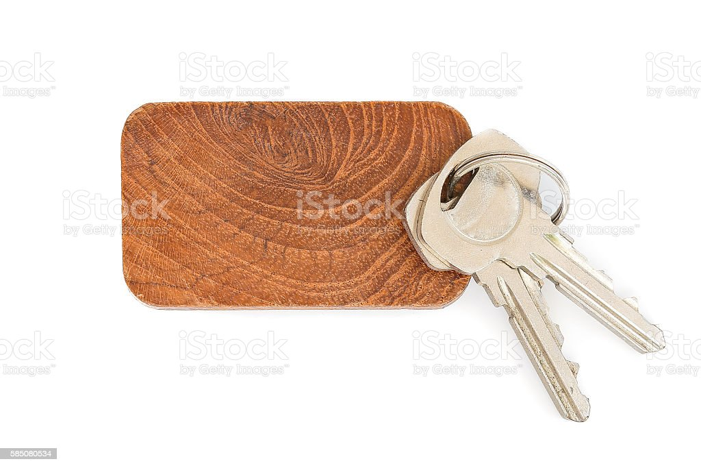 key tag stock photo