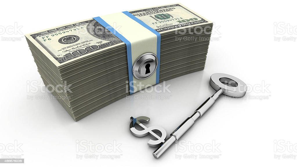 Key to Financial Success stock photo