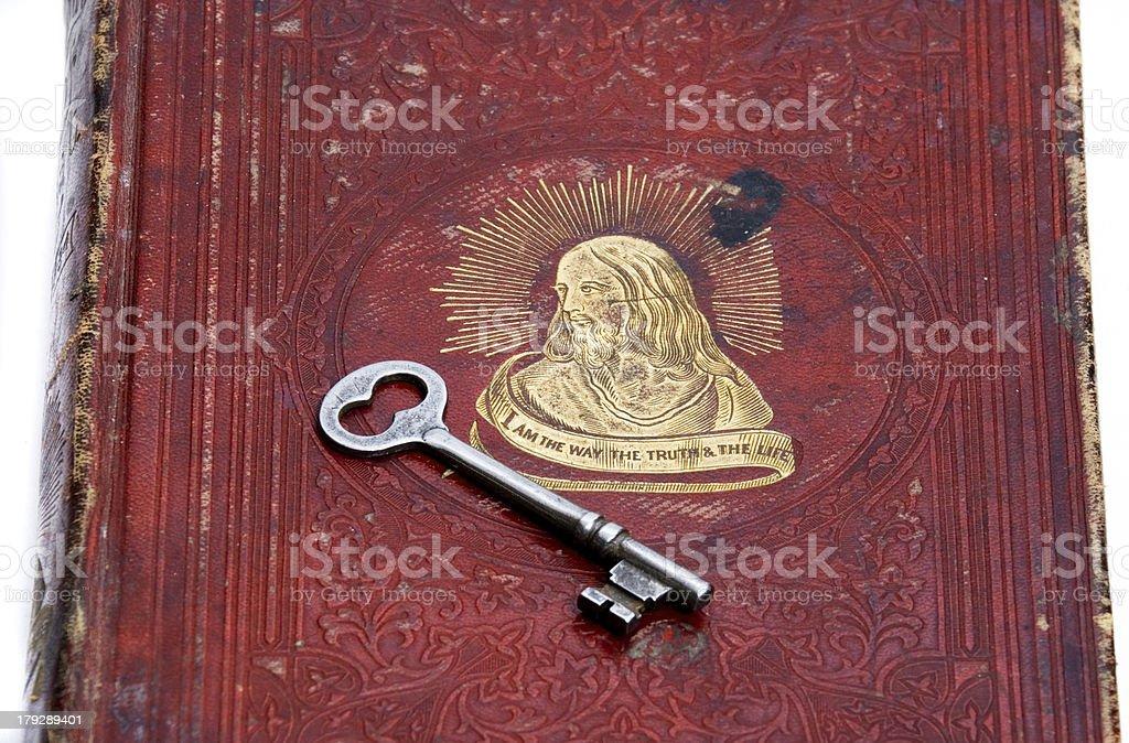 Key to Heaven royalty-free stock photo
