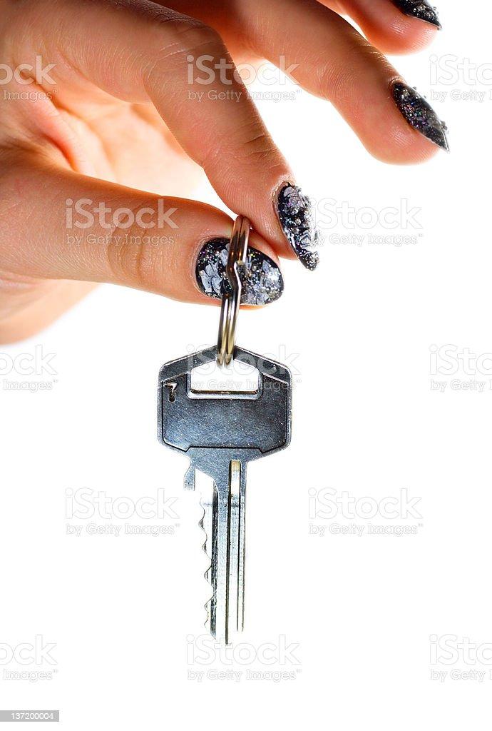 Key to Home royalty-free stock photo
